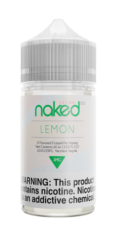 Naked Fusion - Lemon (Green Lemon) 60ML