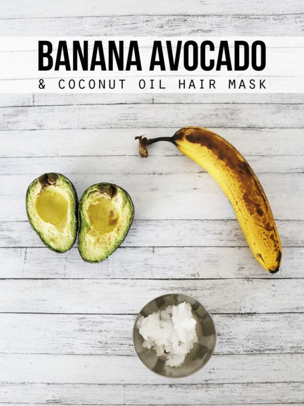 Banana-Avocado-and-Coconut-Oil-Hair-Mask-e1443709578748
