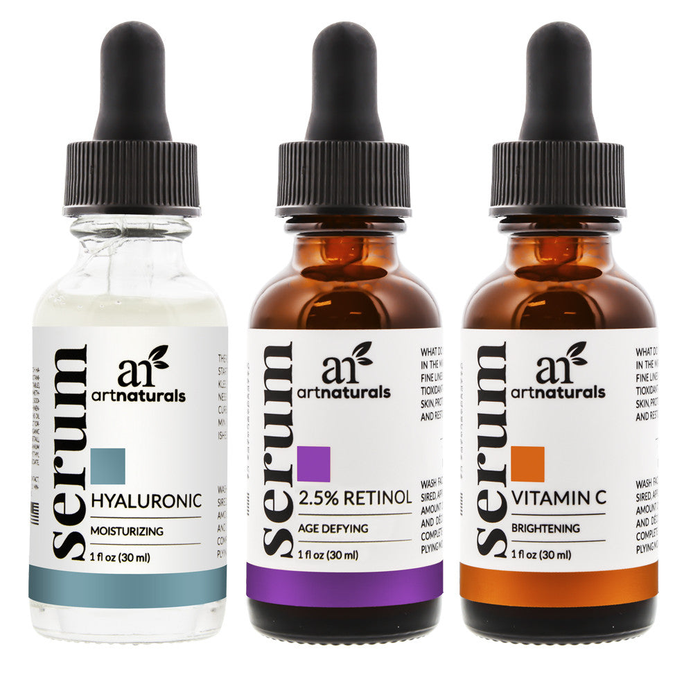 artnaturals® Serum Trio Set ( 1 oz. / 30ml each)