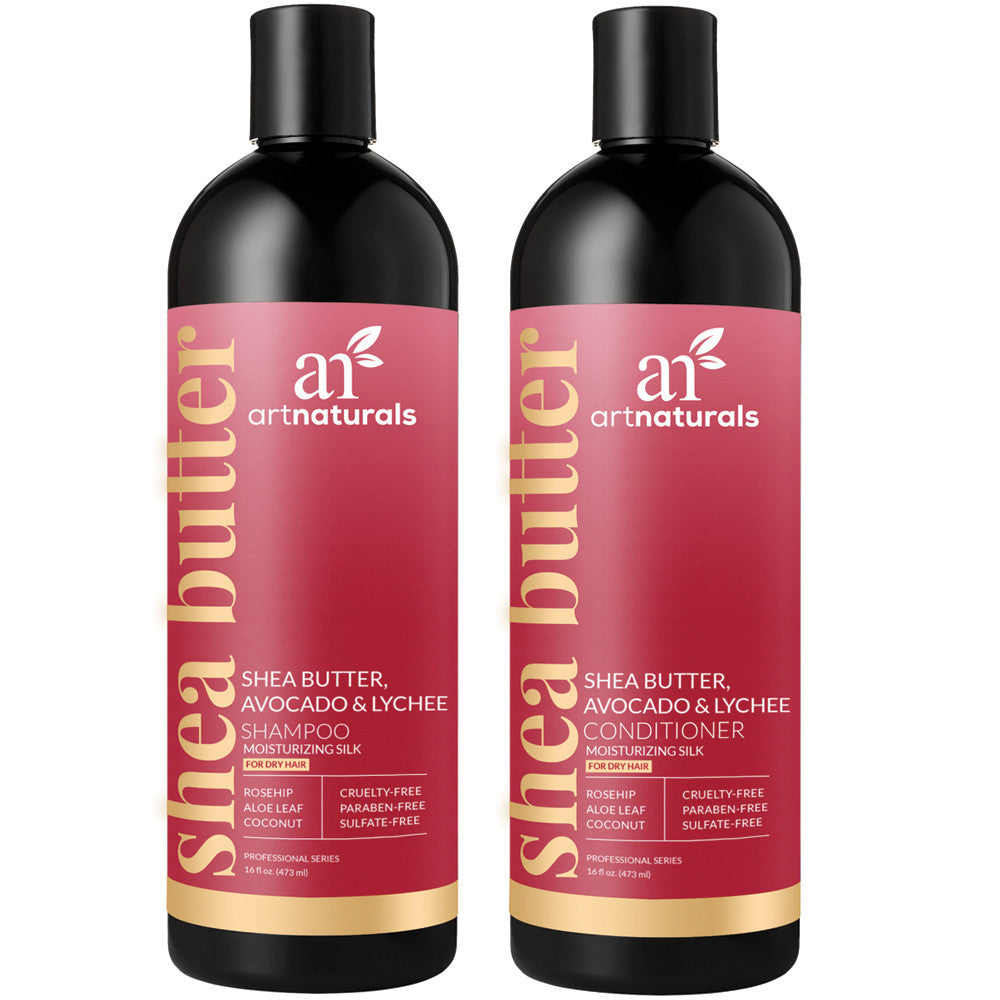 artnaturals® Shea Butter Shampoo & Conditioner Duo