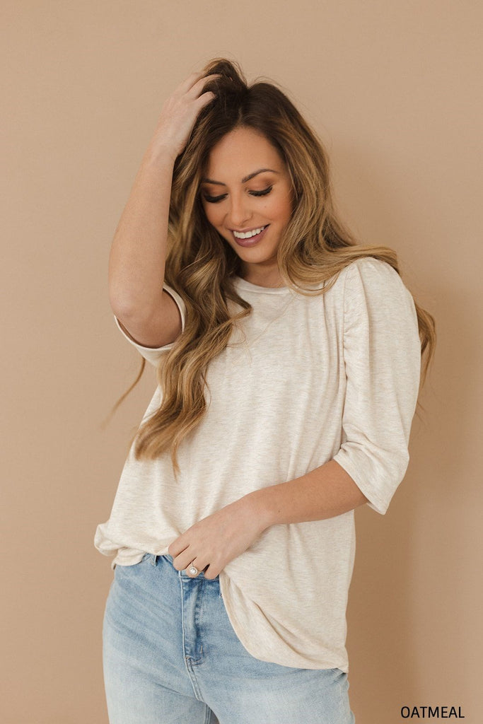 Softest Puff Sleeve Top