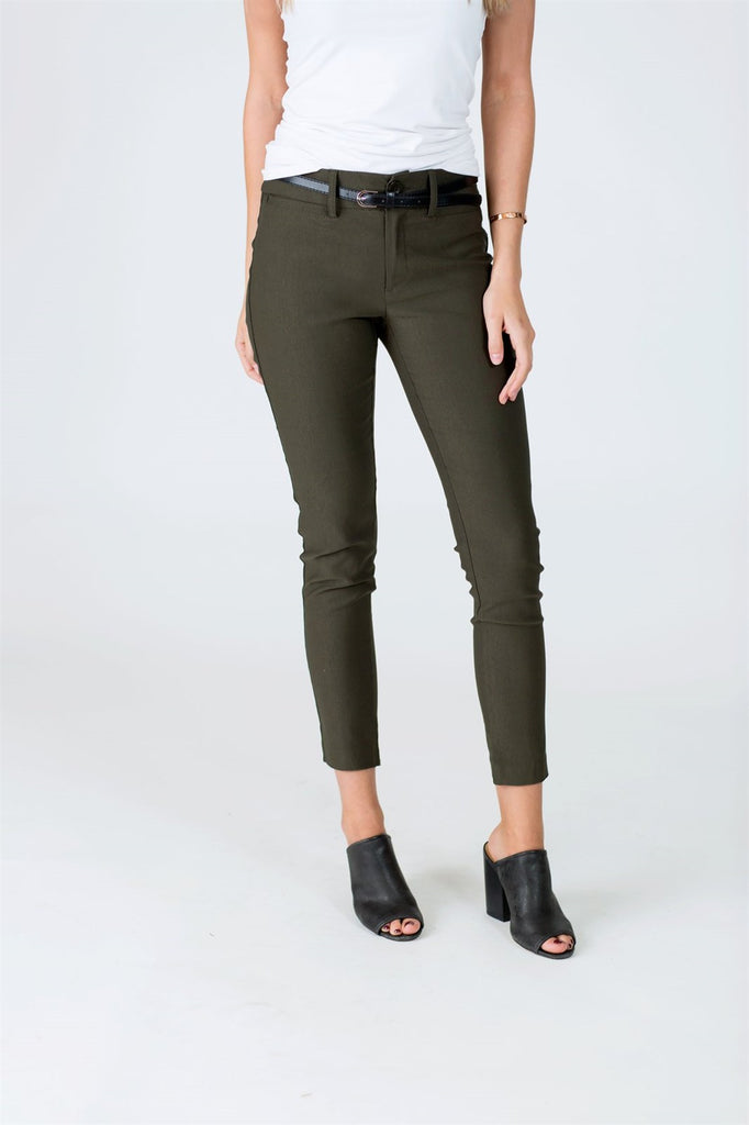 Belted Work Pants