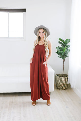 Relaxed Striped Maxi