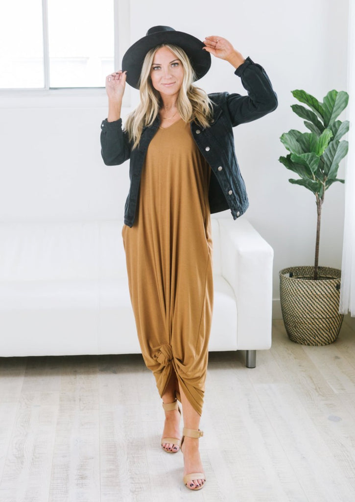 Relaxed Pocket Maxi