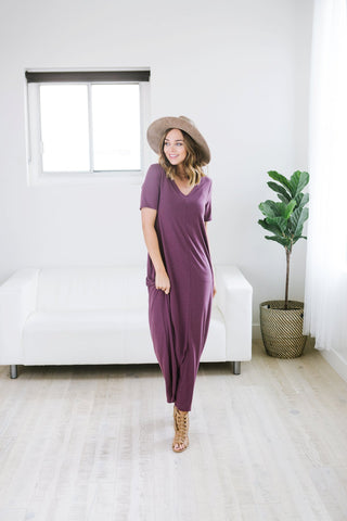 Cuff Sleeve V-Neck Tunic - 8 Color Options