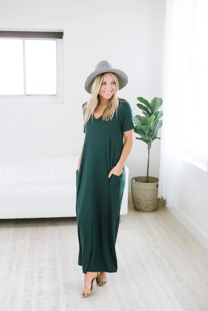 Perfect Spring Pocket Maxi - Fancy Frills Boutique
