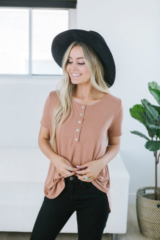Ultra Soft Button Sweater