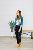 Essential Denim Jacket - Fancy Frills Boutique