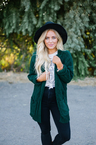 Pocket Textured Cardigan