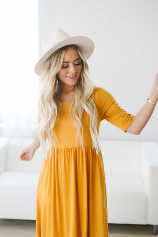 Long Sleeve Tee Dress