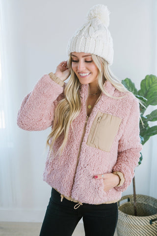 Cable Knit Dolman Cardigan