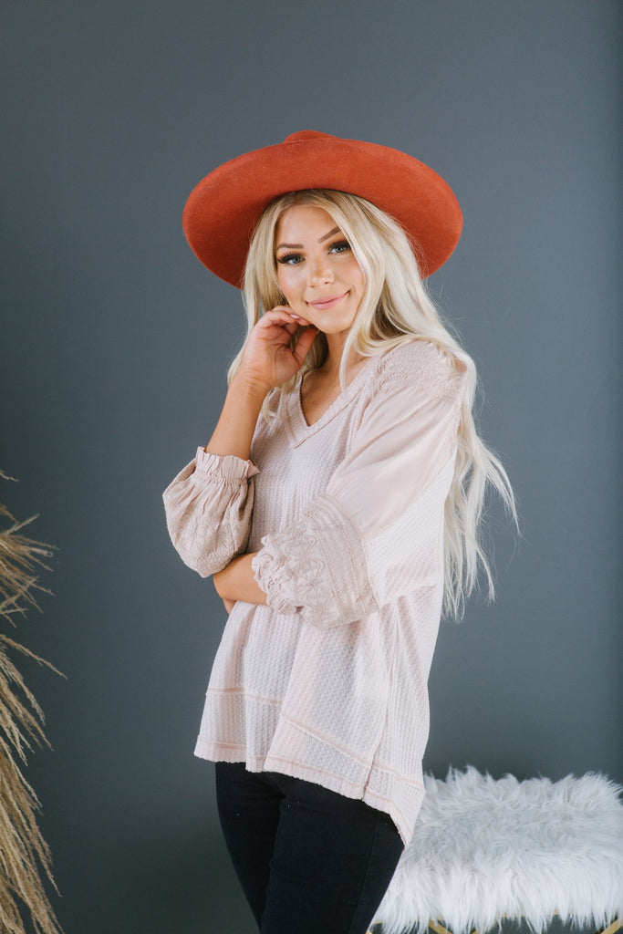 Spring Delicate Blouse - Fancy Frills Boutique