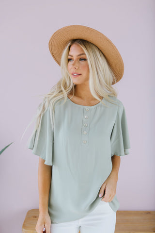 Lace Trim Summer Tee