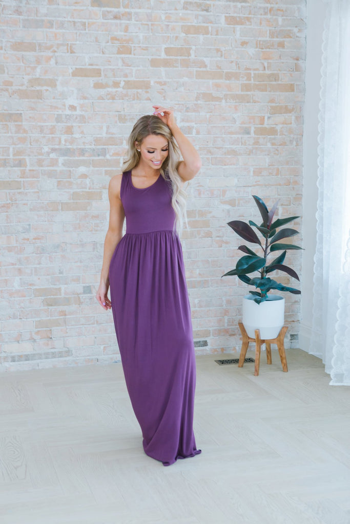 Lux Tank Maxi - Fancy Frills Boutique