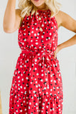 Dotted Beach Dress