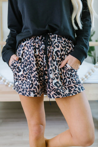 Cheetah Print Jogger Pants