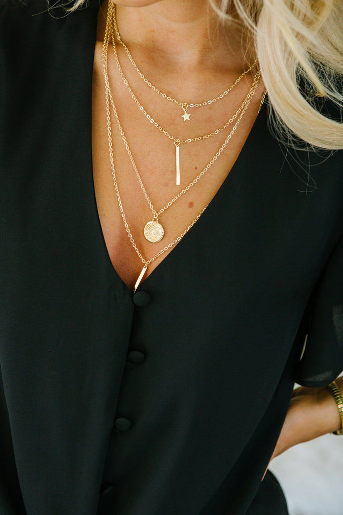 Layered Necklaces- 5 Styles