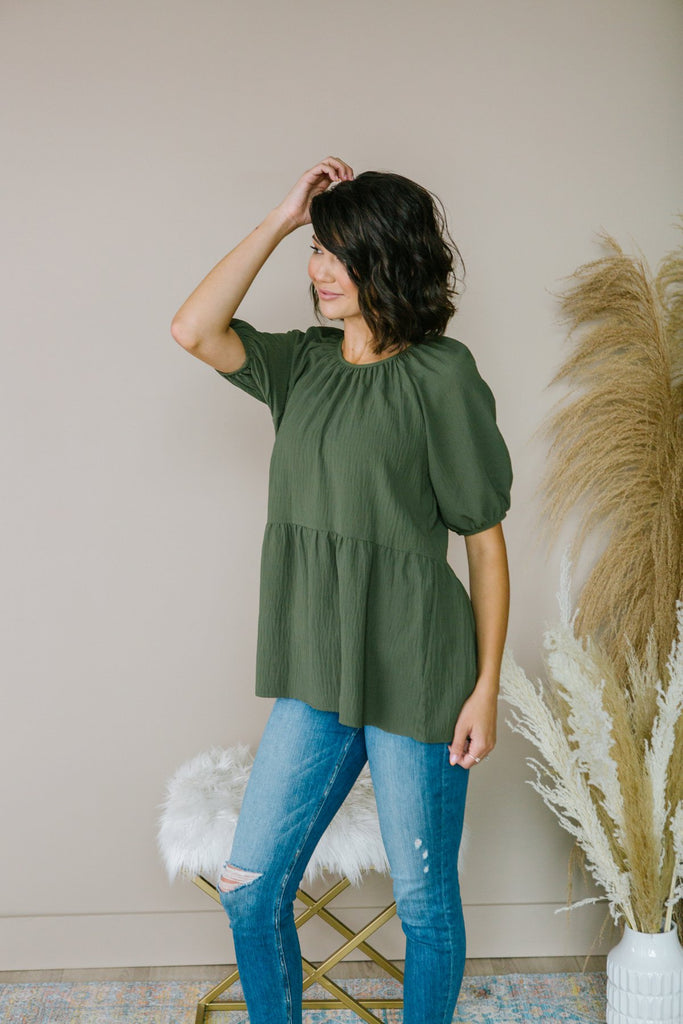 Fall Baby Doll Top