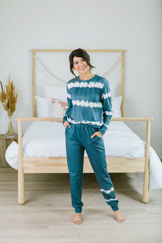Plaid Holiday Lounge Set