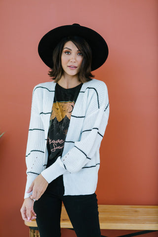 Colorblock Chunky Cardigan