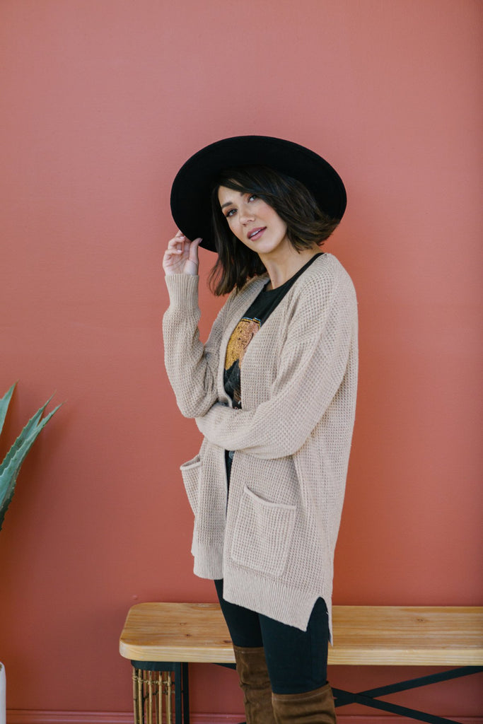 Thermal Pocket Cardigan