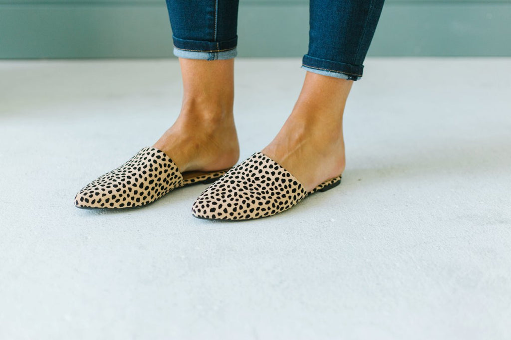 Fall Slip On Mules