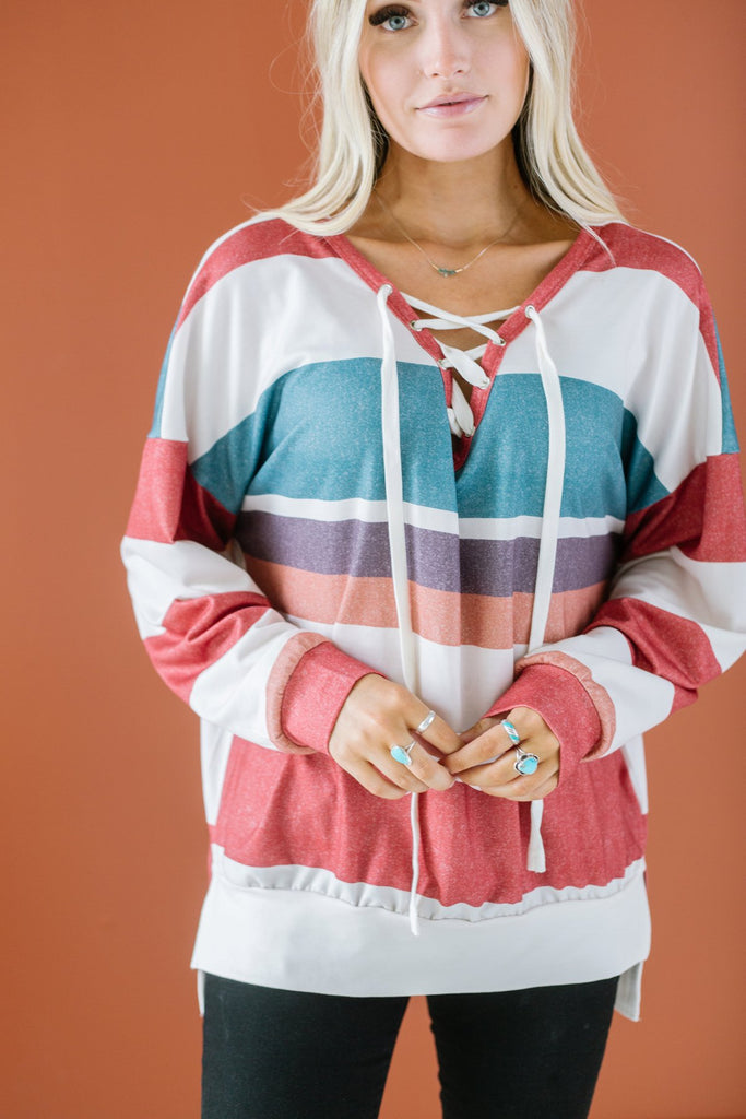 Tie Up Pullover