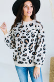 Lux Animal Print Sweater