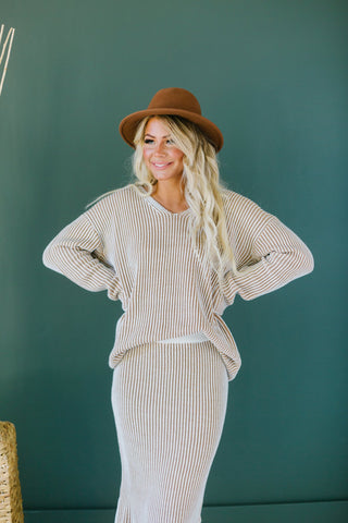Lux Cable Knit Sweater