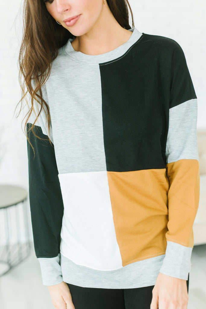 Winter Contrast Pullover