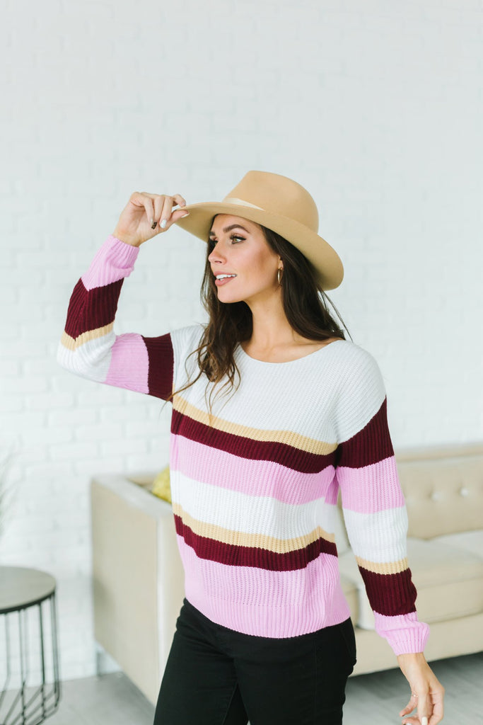 Winter Stripes Sweater