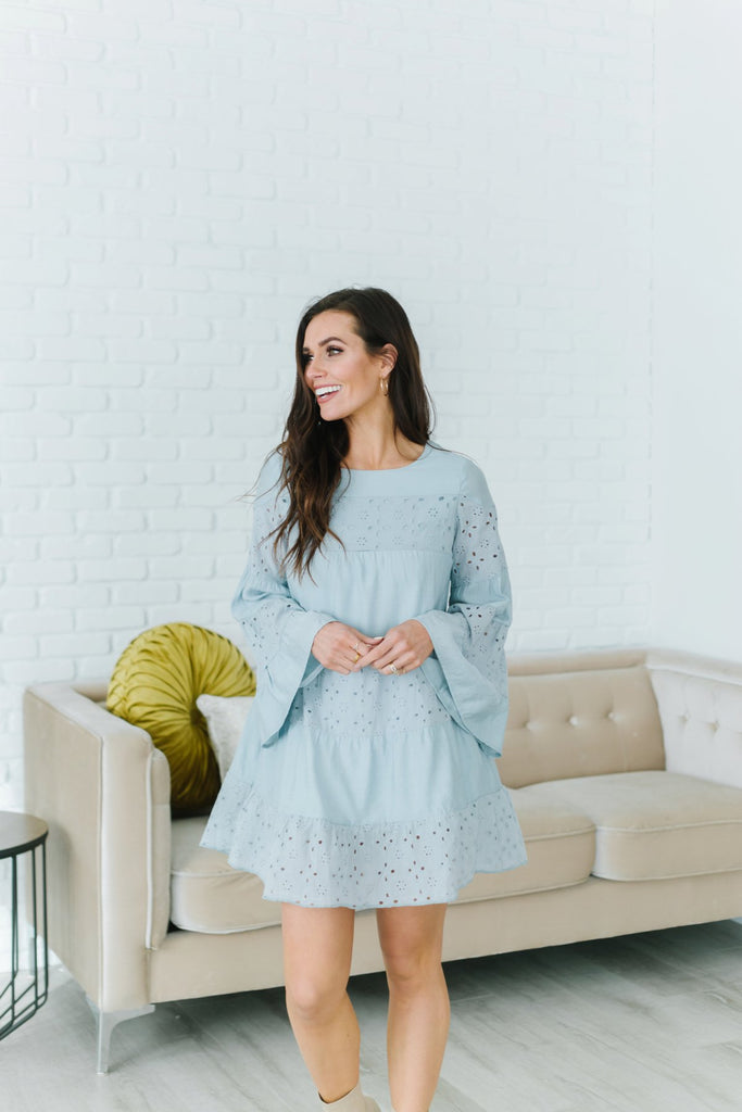 Eyelet Winter Dress