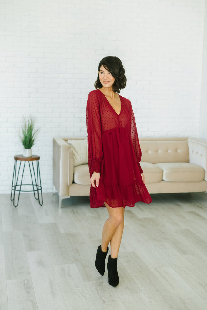 Holiday Babydoll Dress