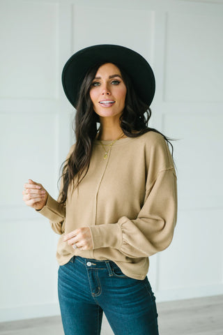 Boyfriend Pocket Pullover