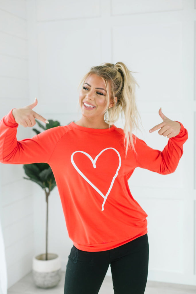 Hearts Of Love Pullover