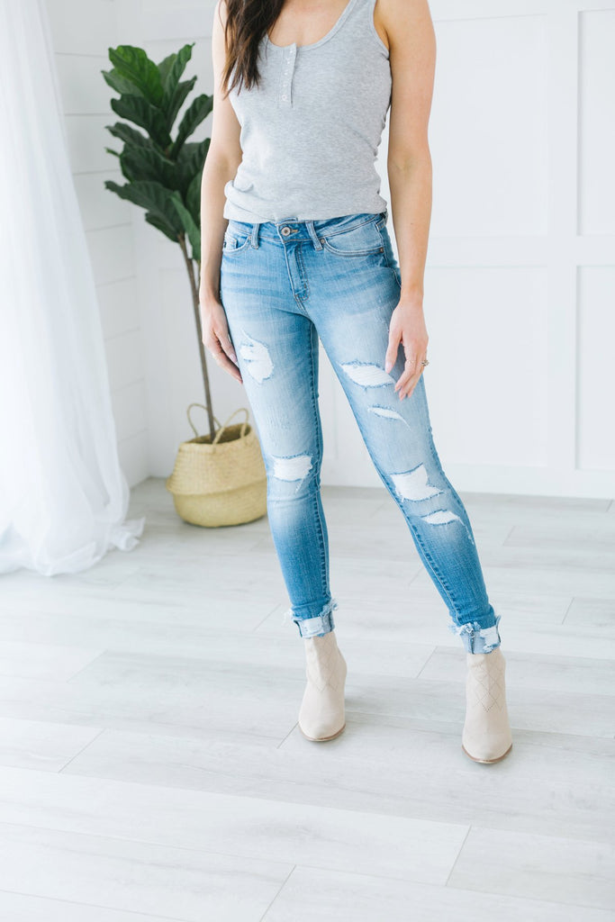 Kan Can Spring Distressed Jeans