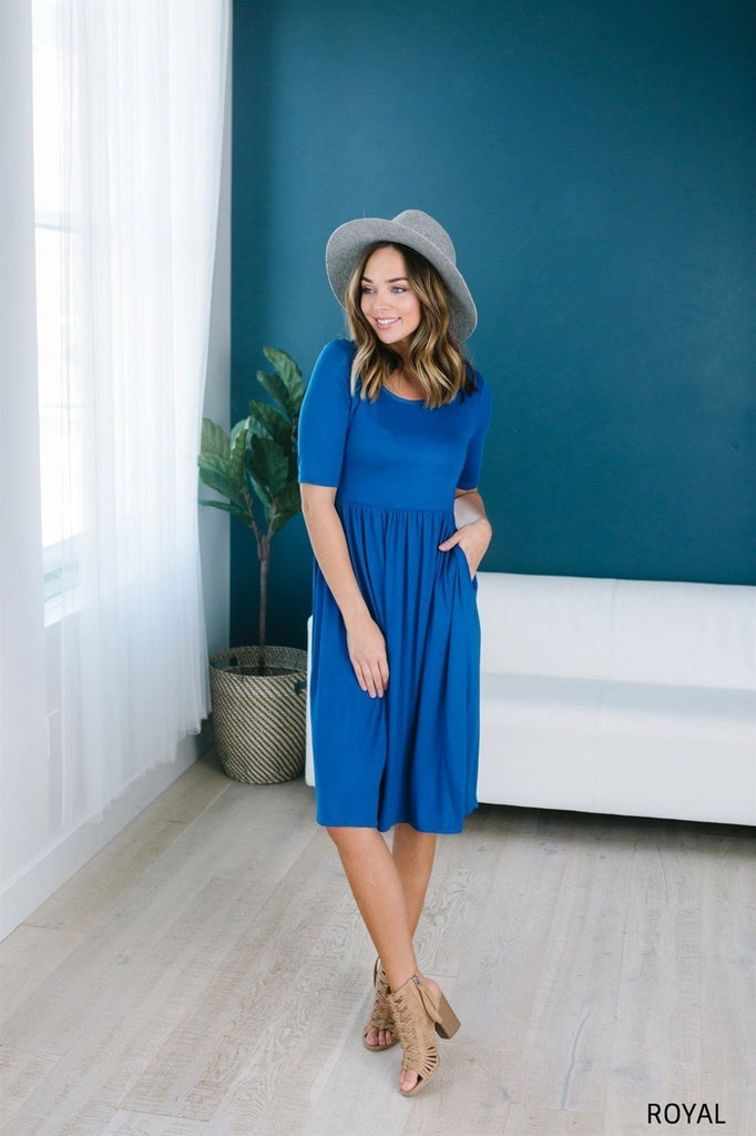 Fit N Flare Midi - 14 Color Options