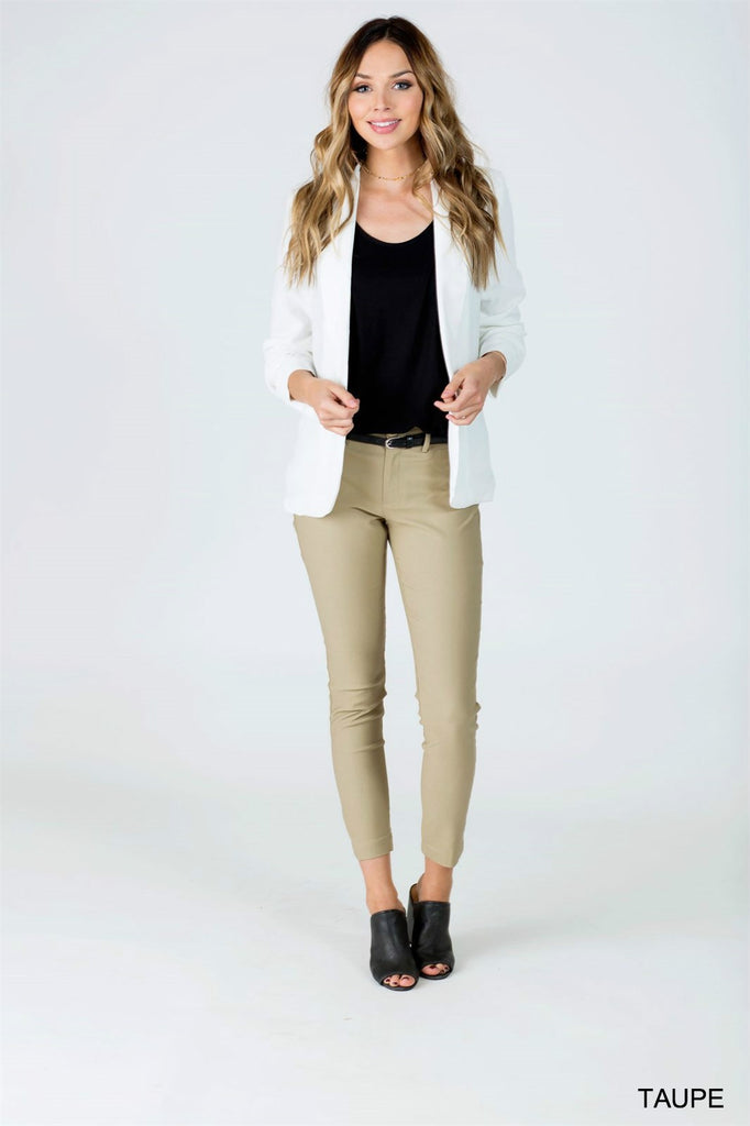 Belted Work Pants - 5 Color Options