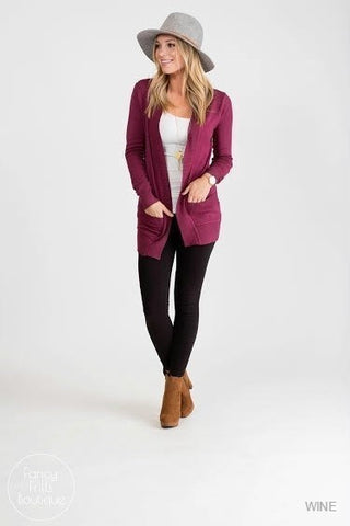Dolman Sweater Cardigan