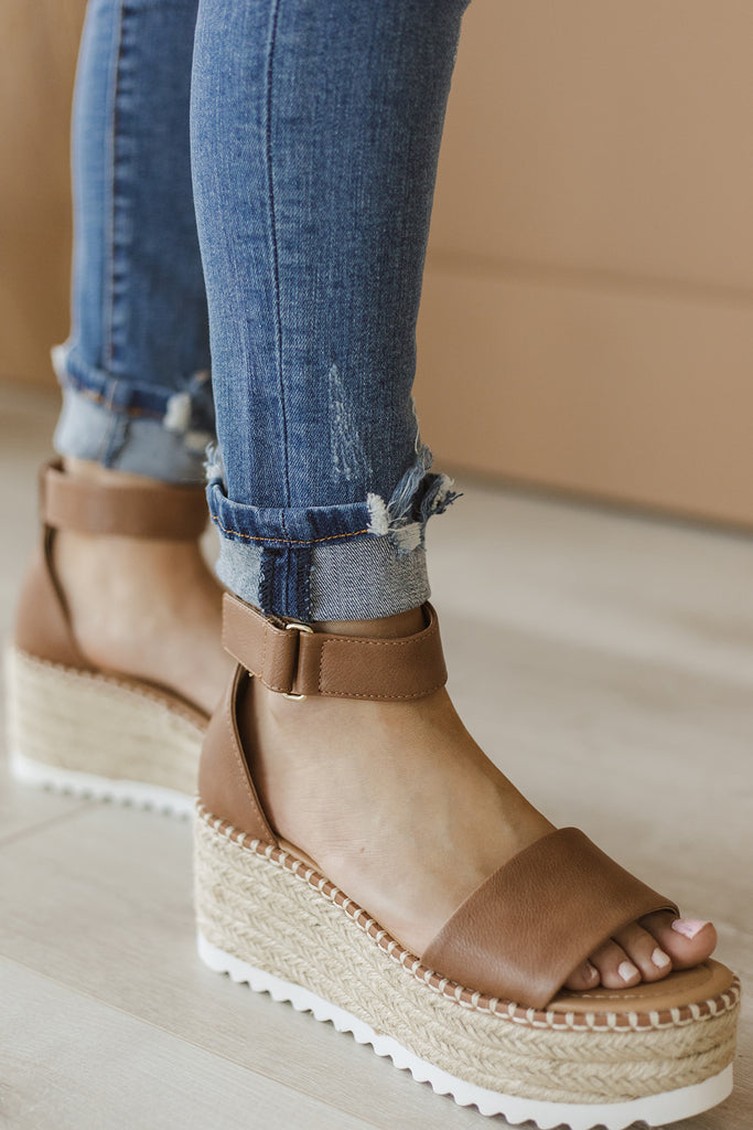 Lucky in Love Wedge Sandals 2 colors!)