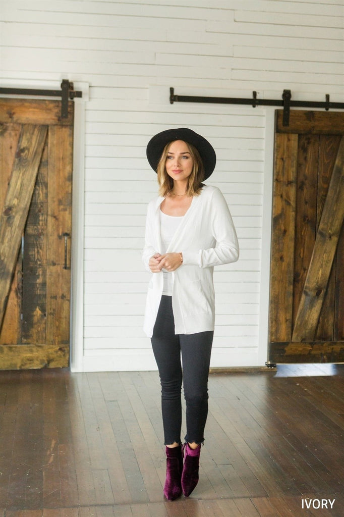 Layering Pocket Cardigan