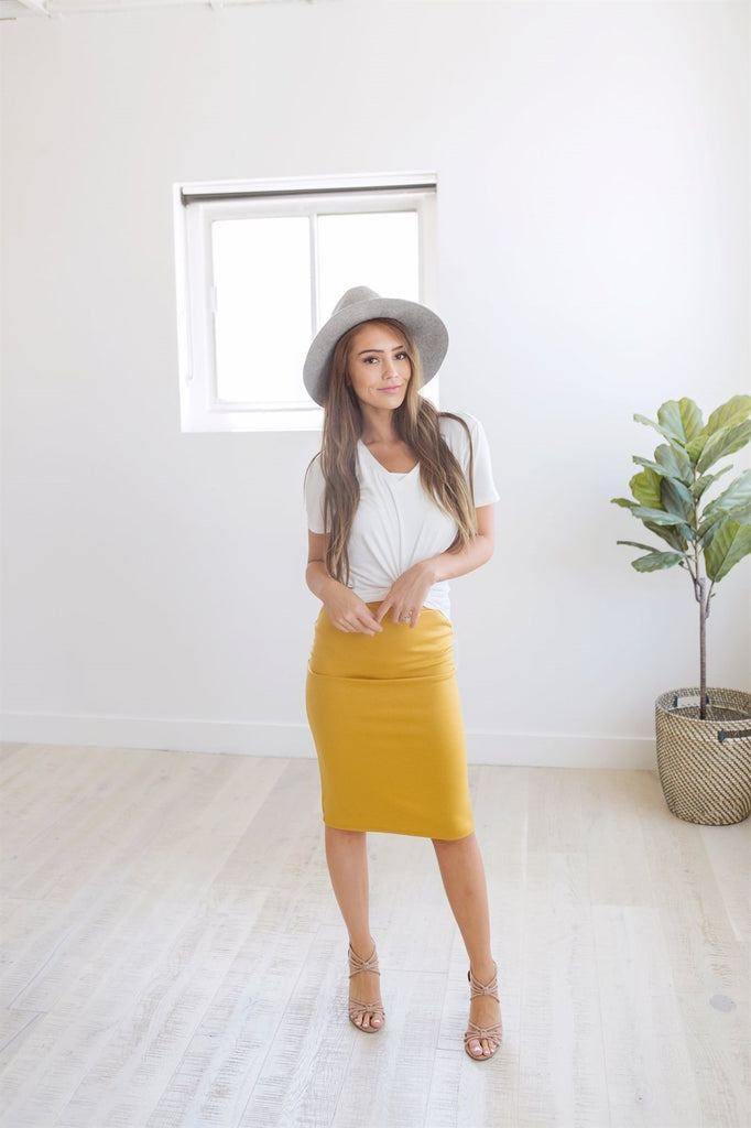 The Perfect Pencil Skirt