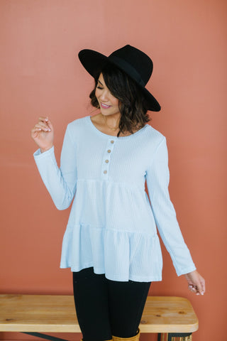 Lightweight Button Tunic