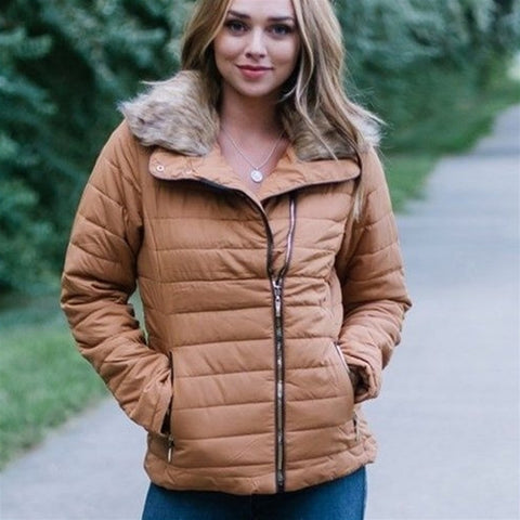 Lux Sherpa Fall Coat
