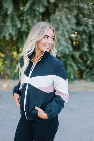 Color block Fall Hoodie