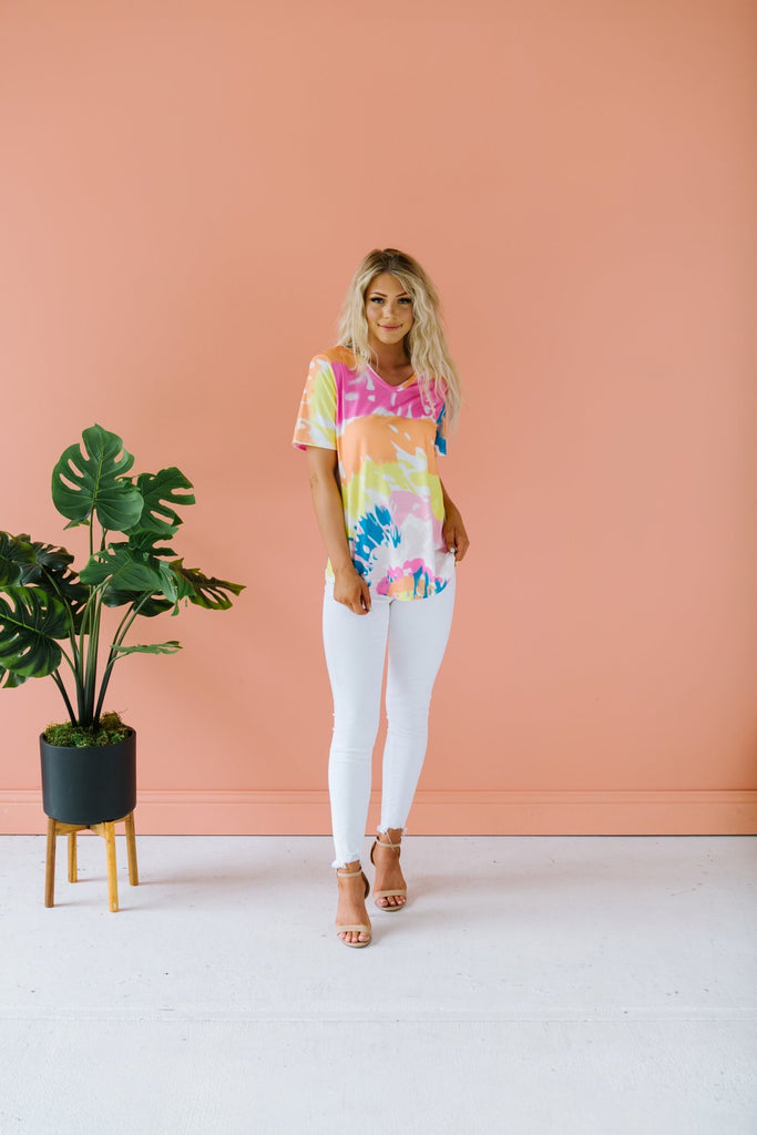 Tie Dye Relaxed Tee