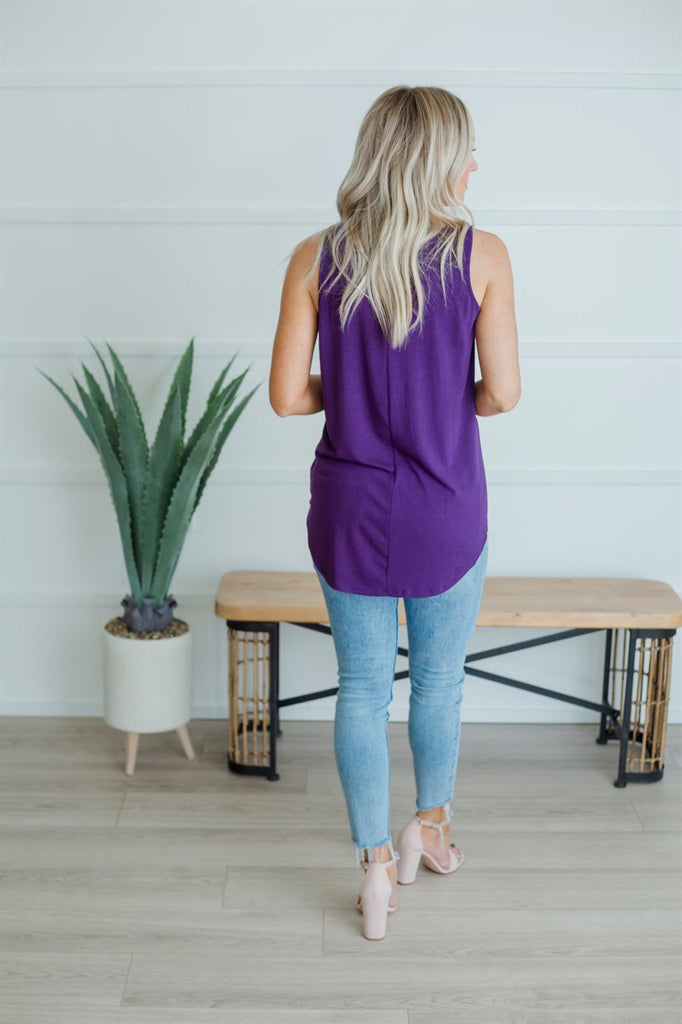 Perfect  Tunic Tank - Fancy Frills Boutique