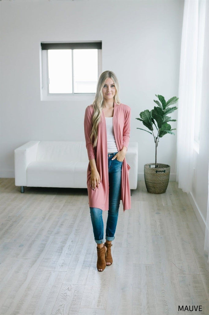 Boyfriend Pocket Cardigan - Fancy Frills Boutique