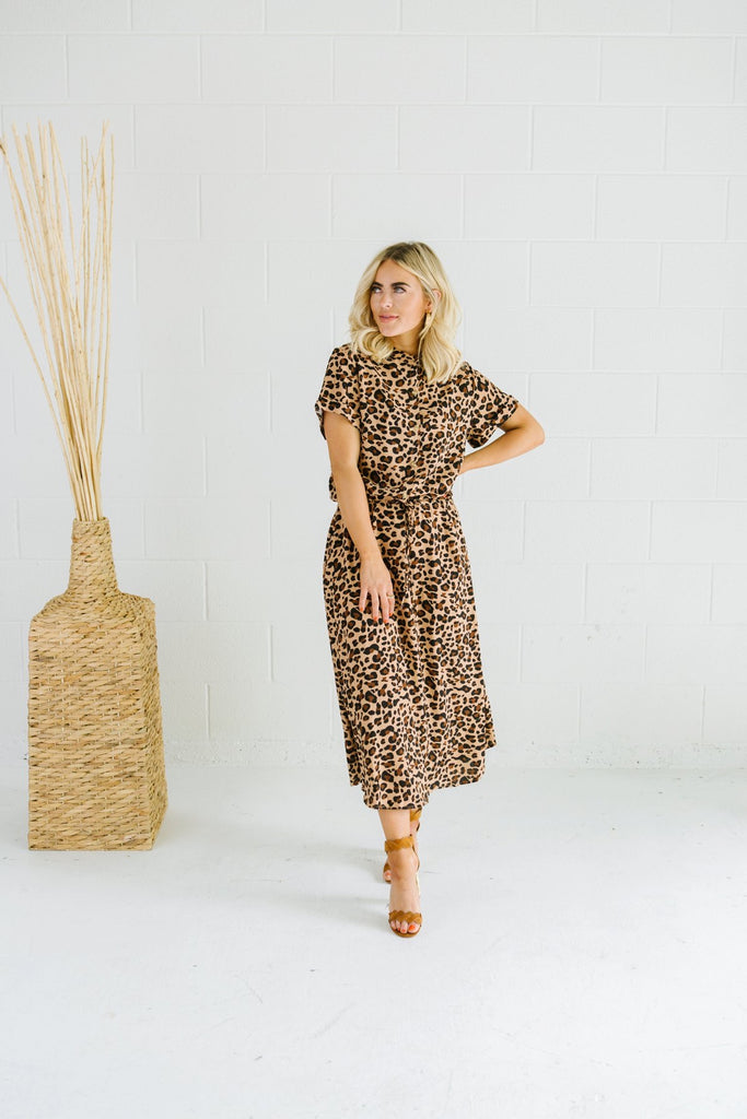 Animal Print Summer Dress