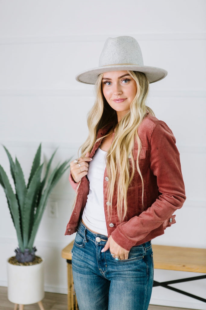 Corduroy Jacket - Fancy Frills Boutique